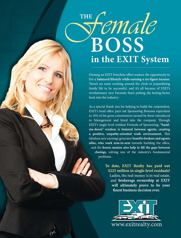 The Female Boss in the EXIT Realty System